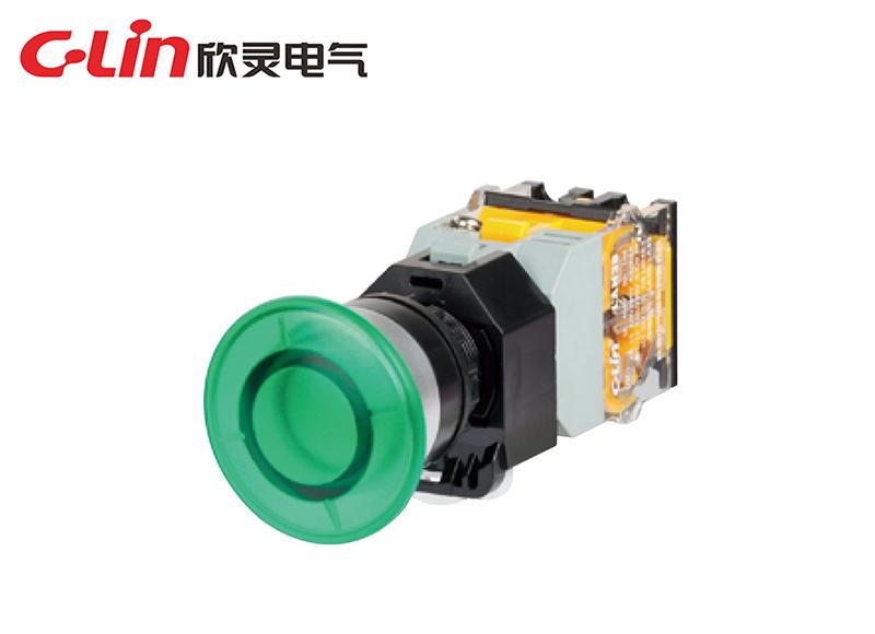 LAN38-22D-11MD带灯蘑菇钮