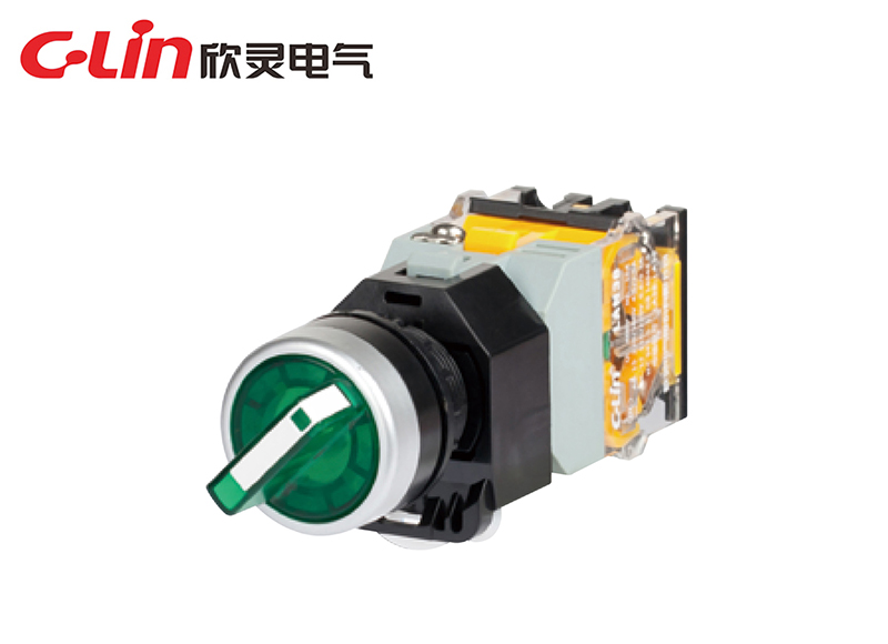 LAN38-22D-20XSD三档带灯旋钮