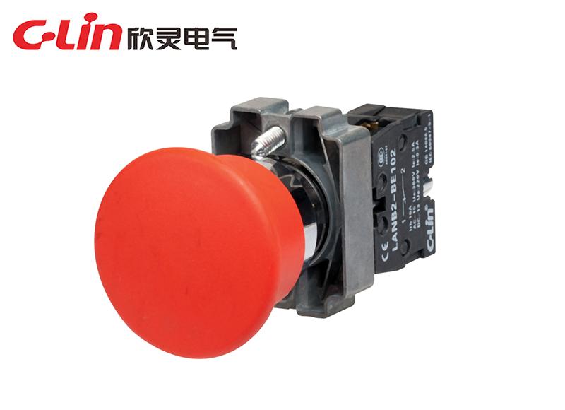 LANB2-BC42蘑菇头按钮