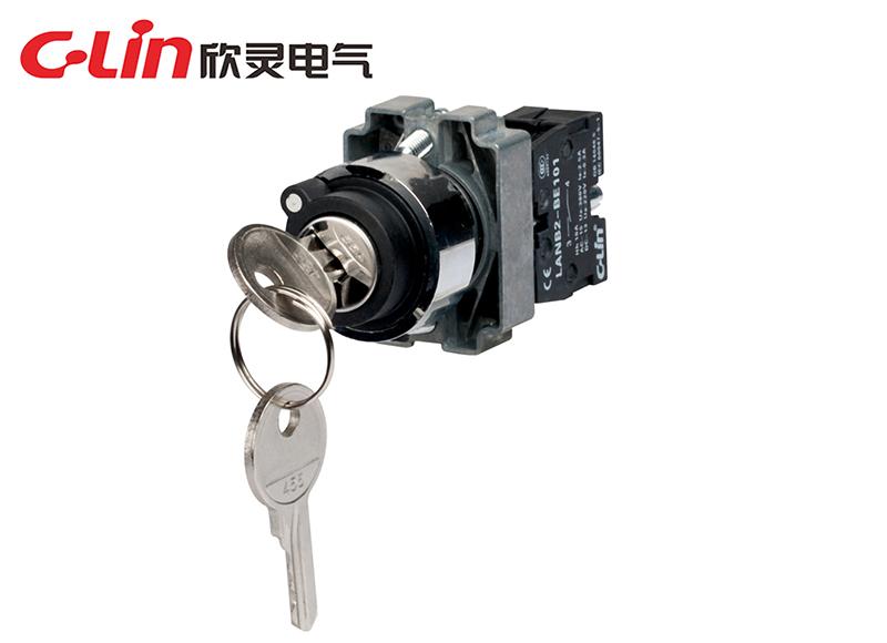 LANB2-BG21钥匙钮