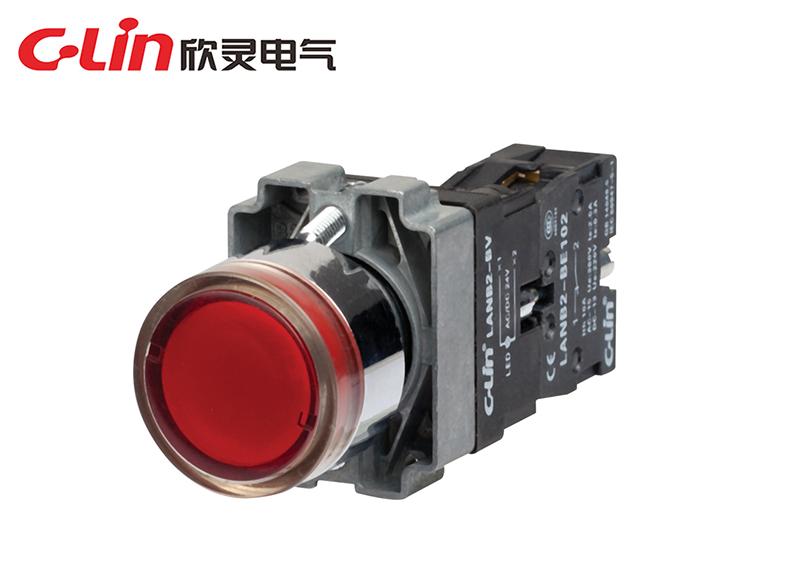LANB2-BW3462带灯按钮
