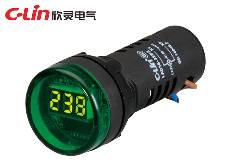 LAD16-22DZ指示灯型电压表