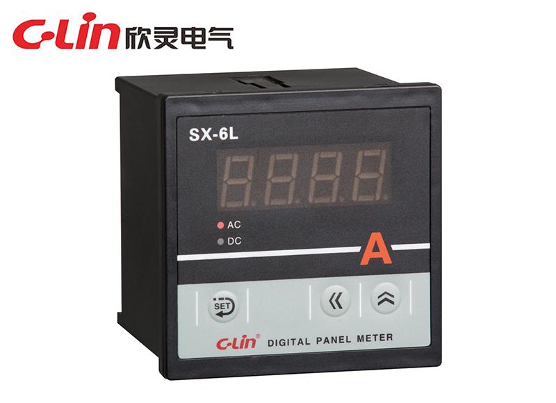SX-6L系列数显电流、电压表